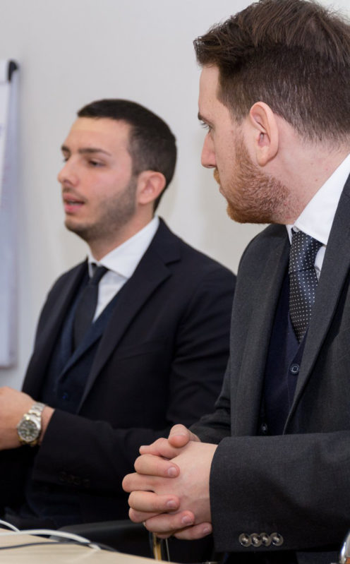 Gianluca Guillaro e Giuseppe De Nicola consulente di marketing
